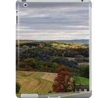 Country View From Rose Valley Road iPad Case/Skin