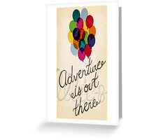 Upventure is out there #2 Greeting Card