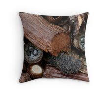 Fungi Season 18 Throw Pillow