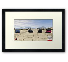 Team Kuruma Framed Print
