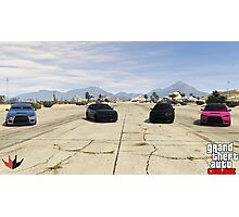 Team Kuruma Photographic Print