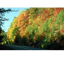 Fall along the Blue Ridge Parkway Photographic Print