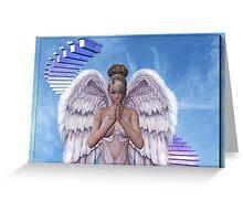 Say a little pray .. an angels prayer Greeting Card
