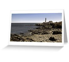Spring into Maine Greeting Card