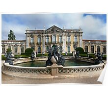 Queluz National Palace Poster