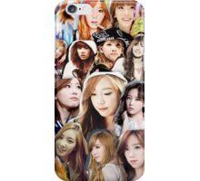 Taeyeon Collage iPhone Case/Skin