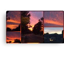 Canberra Morning Canvas Print