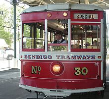 Bendigo..Talking Tram   by judygal