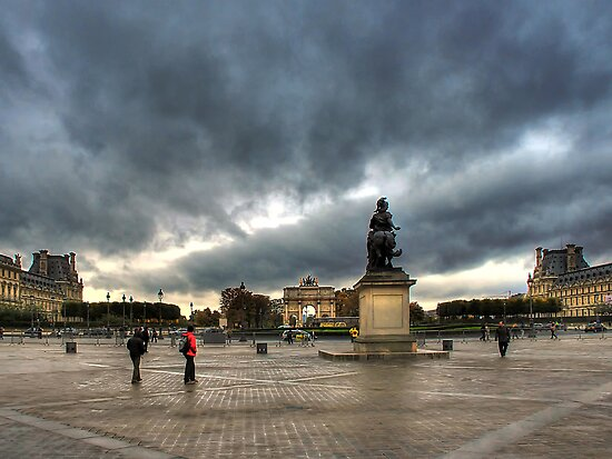 Place Du Carrousel by Xandru