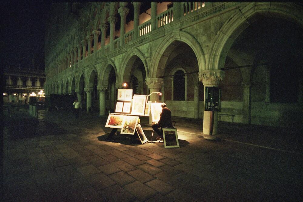Artist, Venice by jazochromatic