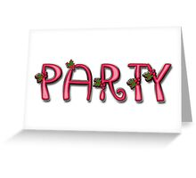Party - Special-Tee (Holiday) Greeting Card