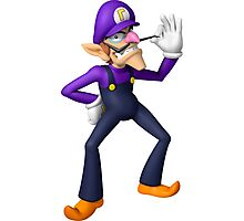 Waluigi Photographic Print