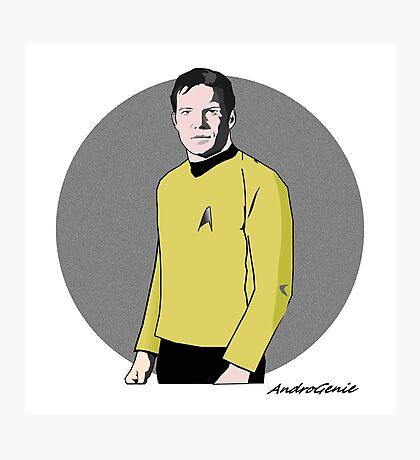 Captain Kirk Photographic Print