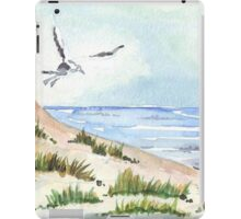 The Seagull and the beach iPad Case/Skin