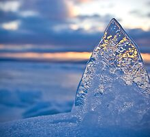 The Ice Pyramid by Ian Benninghaus