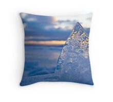 The Ice Pyramid Throw Pillow