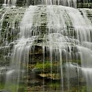 Montour Falls in New York close up by 1busymom