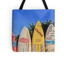 Hawaiian Surf Fence Clutch Tote Bag