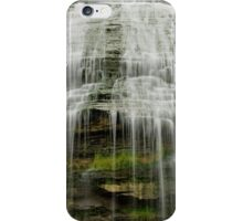 Montour Falls in New York close up iPhone Case/Skin