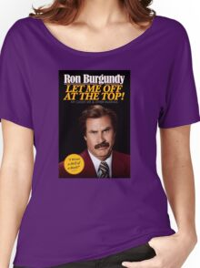 Anchorman - Ron Burgundy Women's Relaxed Fit T-Shirt