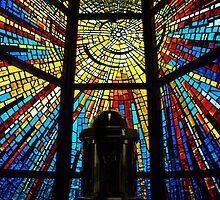 St Ita's Catholic Church, Drouin. by Bev Pascoe