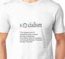 Winston Churchill on Socialism Unisex T-Shirt