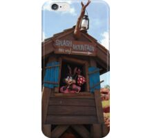 Splash Mountain Entrance- Magic Kingdom iPhone Case/Skin