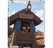 Splash Mountain Entrance- Magic Kingdom iPad Case/Skin