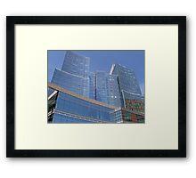 Boston Harbor Skyscraper, Boston, 2009, *featured Framed Print