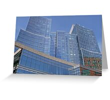 Boston Harbor Skyscraper, Boston, 2009, *featured Greeting Card