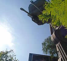 Star Tours Entrance AT-AT- Hollywood Studios by caileystavern