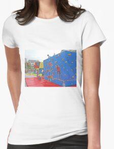 Climbing Fun Womens Fitted T-Shirt