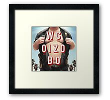 Mr. Oizo - Wrong Cops Framed Print