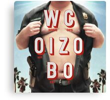 Mr. Oizo - Wrong Cops Canvas Print