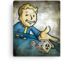 Fallout Casino Pipboy Canvas Print