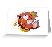 magikarp. Greeting Card