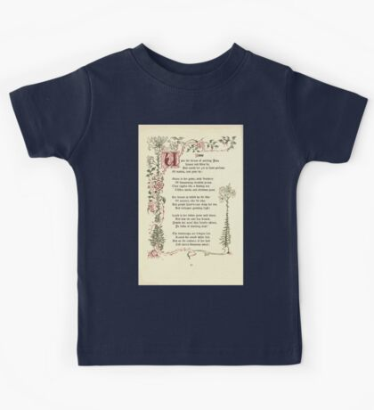 The Old Garden and Other Verses by Margaret Deland and Wade Campbell, Illustrated by Walter Crane 1894 88 - June Kids Tee
