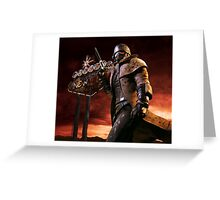 Fallout New Vegas Greeting Card