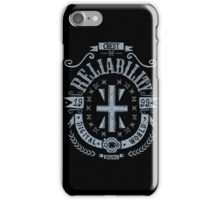 Reliability iPhone Case/Skin