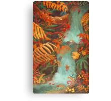 Flora and Fauna Canvas Print