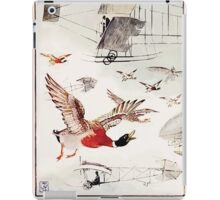 Rumbo Rhymes, or, The Great Combine a Satire by Alfred Calmour illustrated by Walter Crane 71 - A Wild Duck Said that In the Sky T'was now Impossible to Fly iPad Case/Skin