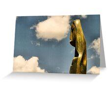 Shona Sculpture Greeting Card