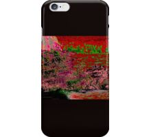 Dragon in the Lake of Fire - Abstract iPhone Case/Skin