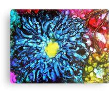 Sapphire Bloom Canvas Print