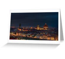 Florence Before Sunrise Greeting Card