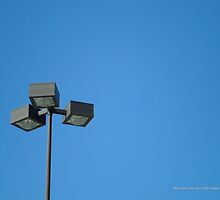Parking Lot Light Fixture   Miller Place, New York  by © Sophie W. Smith