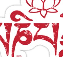 Ohm Mani Padme Hum Sticker