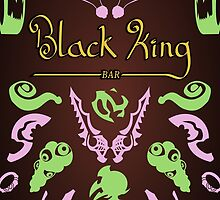 Black King Bar - 99% Cacao with Traces of Radiant  by mikecollective