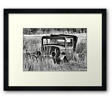 1930 Ford Model A Turon Sedan Framed Print