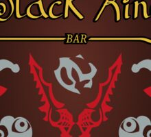 Black King Bar - 99% Cacao with Hint of Dire Sticker